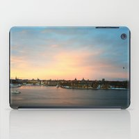 stockholm iPad Cases featuring Stockholm Sunset by Judith Altman