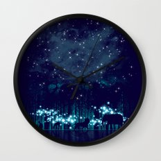 Cosmic Safari Wall Clock