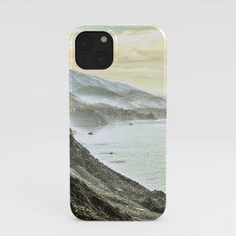 Somewhere over Big Sur. iPhone Case