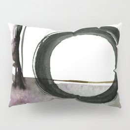 Enso Abstraction No. 112 by Kathy morton Stanion Pillow Sham