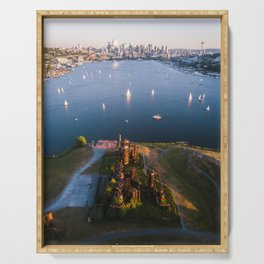 Gas Works and Lake Union Serving Tray