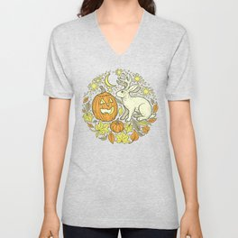 Halloween Friends | Spooky Brights Palette Unisex V-Neck