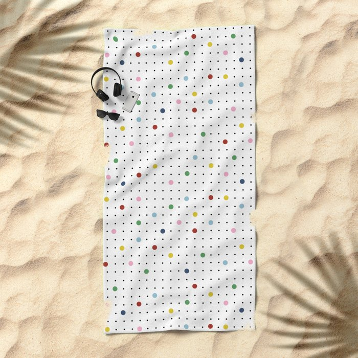 Pin Point New Beach Towel