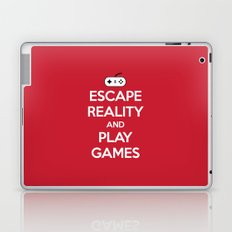 Escape Reality Gaming Quote Laptop & iPad Skin