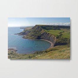 Chapmans Pool, Dorset, England Metal Print