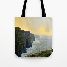Cliffs of Moher Morning Tote Bag