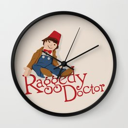 Raggedy Doctor Wall Clock
