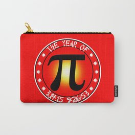 Year of Pi  3/14/15 9:26:53 Carry-All Pouch