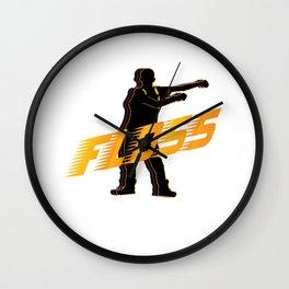 Floss Dance Move Wall Clock