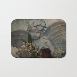 Angel and Rose Bath Mat
