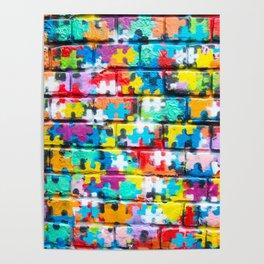 Rainbow Puzzle Poster