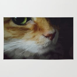 Cat eye Rug