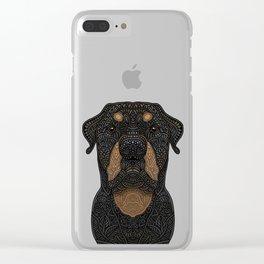 Rottweiler - Teddy Clear iPhone Case