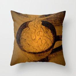 A Fancy Cuppa DPPA150510a Throw Pillow
