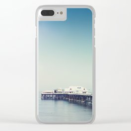 Blackpool pier and coast on a sunny July morning. Clear iPhone Case