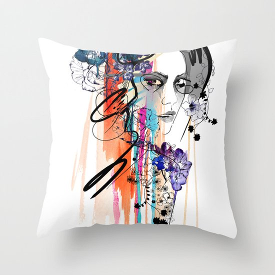 Poison Throw Pillow