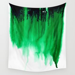 Emerald Bleed Wall Tapestry