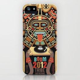 Mayas Spirit - Boom 2012 iPhone Case