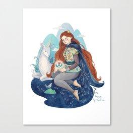 Princess of Scotland Canvas Print
