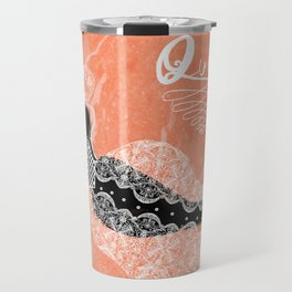 Think like a Queen : Audrey Hepburn Quote Travel Mug