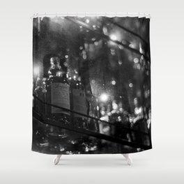 Hazy Booze Shower Curtain