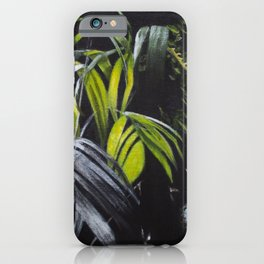 Sensitive Rainforest iPhone Case