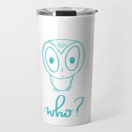 Who? Travel Mug