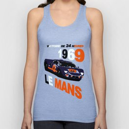 Ford GT40 at 1969 24 Hours of Le Mans Unisex Tank Top