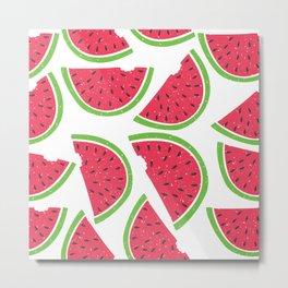 Watermelon Summer Metal Print