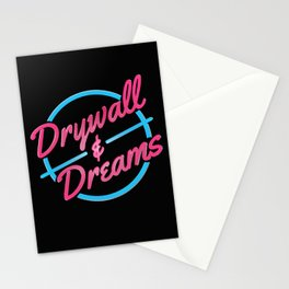 Drywall & Dreams Stationery Cards