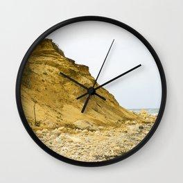 Montauk Beach Sand Dune Wall Clock