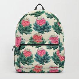 Protea flower garden Backpack