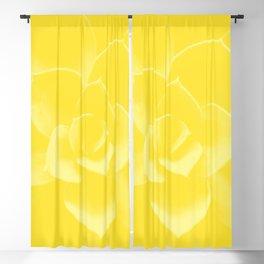 Succulent Plant Yellow Mellow Color #decor #society6 #buyart Blackout Curtain