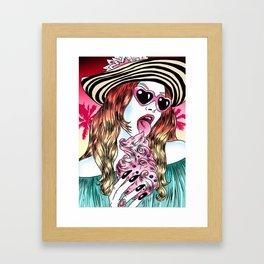 Vulgar Darling Framed Art Print