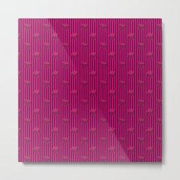 pink liquorice Metal Print