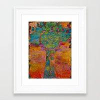 virgo Framed Art Prints featuring Virgo by Fernando Vieira