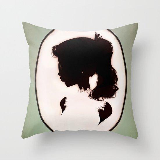 La Boudeuse Throw Pillow