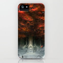 Tree of Duality iPhone Case