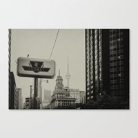 toronto Canvas Prints featuring Toronto by Snablab
