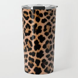 Cheetah Pattern Travel Mug