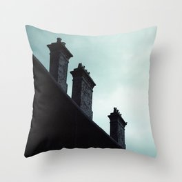 Redfern Chimneys Throw Pillow