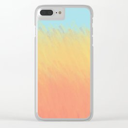 That Field of Golden Wheat Clear iPhone Case