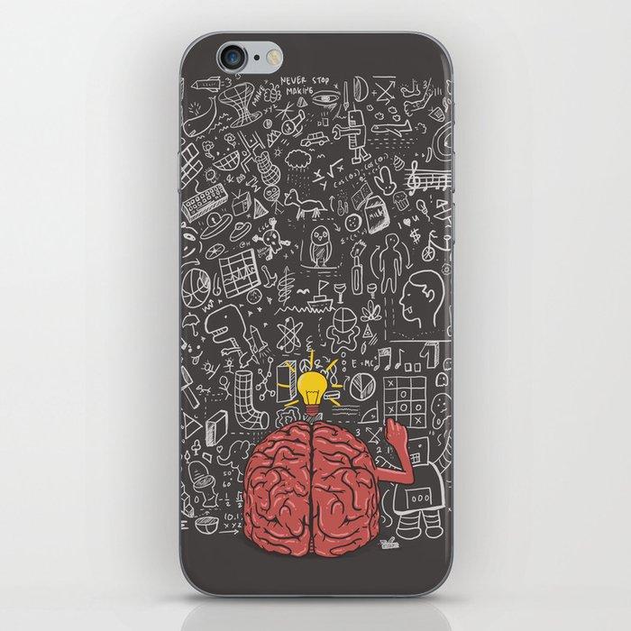 My Brain Won't Stop iPhone Skin