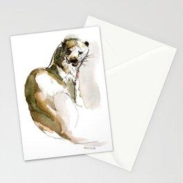 Totem: Eurasian River Otter (c) 2017 Stationery Cards