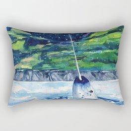 Narwhal Rectangular Pillow