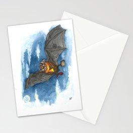 Little Worlds: Travel Bat Stationery Cards