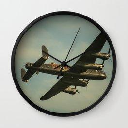 Flight of the Lancaster Wall Clock