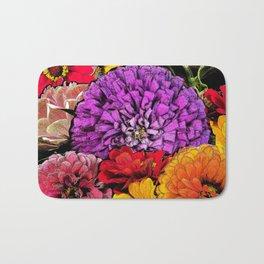 Power Flowers Bath Mat
