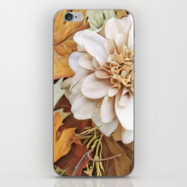Autumn's Floral iPhone Skin