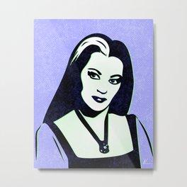Lily | Pop Art Metal Print